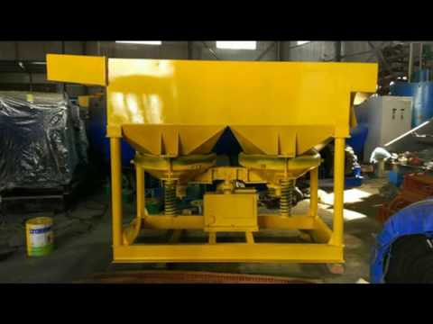 High recovery rate gold concentrate saw tooth wave jig