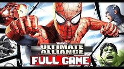Marvel Ultimate Alliance Full Game Walkthrough - No Commentary (#MarvelUltimateAlliance Full Game)