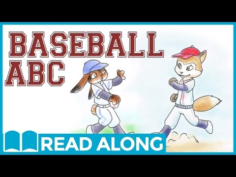 Read Along Story Book for Kids Ages 0-5 | Baseball ABC