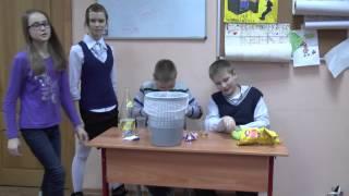 Cоциаьный ролик о правильном питании))