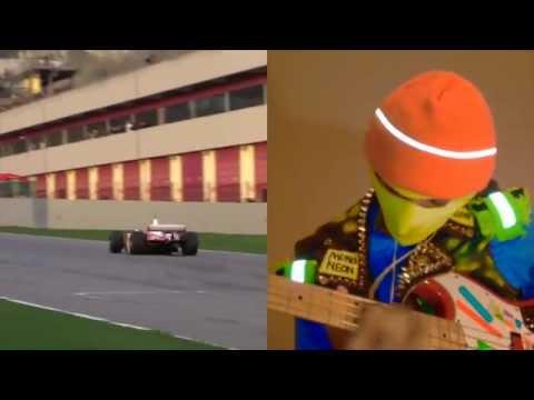 MonoNeon - Ferrari F1 - improvisation on multi cylinder engine sounds