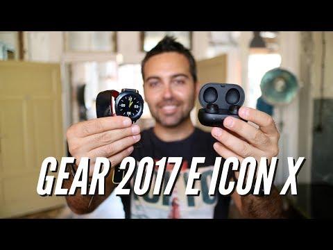 SAMSUNG Gear Sport, ICONX 2018 e Fit 2 Pro | IFA 2017