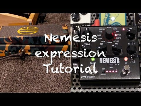 Source Audio Nemsis Delday Expression Pedal Tutorial