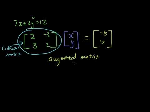 Matrices Lesson 11 - Use Gaussian Elimination To Solve 2-variable Simultaneous Equations