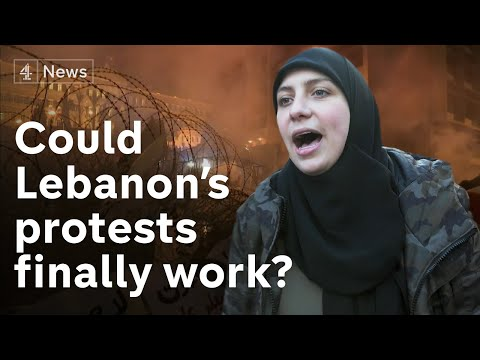Inside Lebanon's mass protests - young revolutionaries believe their time has come