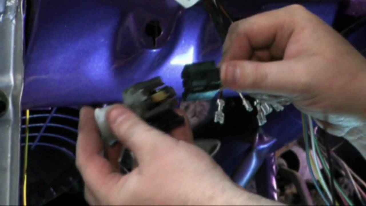 65 66 Mustang Part 1 Youtube Painless Fuse Box For Performance