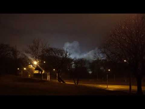 Cleveland Coal Powered Power Plant Imploded 2017