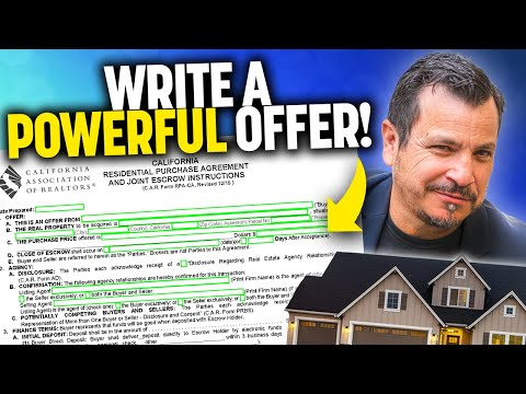 How To Write A Powerful Real Estate Purchase Offer
