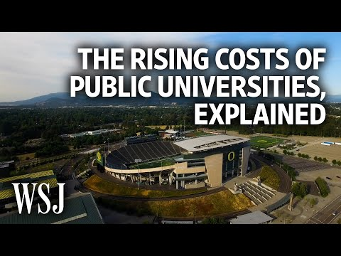 How Public Universities Became So Expensive | WSJ