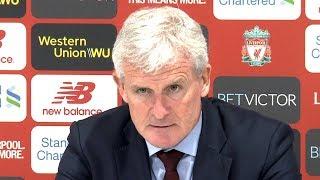 Liverpool 3-0 Southampton - Mark Hughes Full Post Match Press Conference - Premier League
