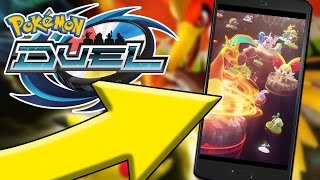 AMAZING NEW POKEMON GAME - POKEMON DUEL (IOS & ANDROID)