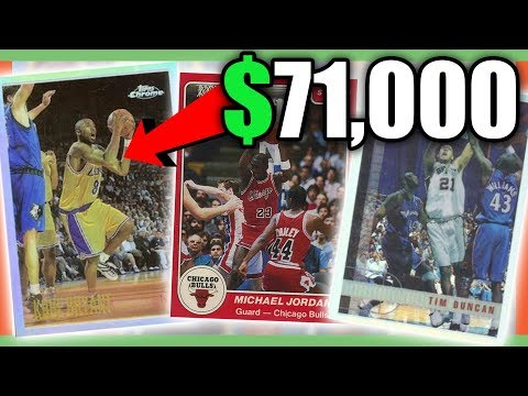 555719d8dc6 RARE BASKETBALL CARDS WORTH MONEY - MOST EXPENSIVE NBA CARDS!! - YouTube