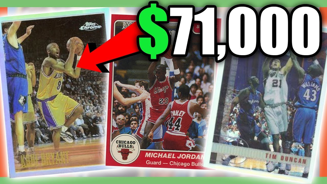 b732593a111 RARE BASKETBALL CARDS WORTH MONEY - MOST EXPENSIVE NBA CARDS!! - YouTube
