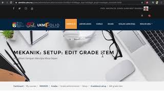 Video Tutorial Release Grade dalam UKMFolio