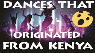 DANCING STYLES THAT ORIGINATED FROM KENYA! thumbnail