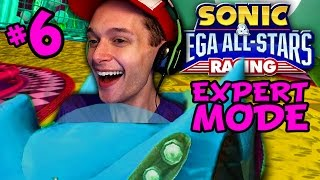 LOSING HORRIBLY - Sonic & Sega All-Stars Racing [EXPERT MODE] - Part 5 [Monkey Cup]