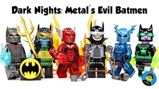 Batman Dark Nights Metal Evil Batmen Unofficial LEGO Minifigures The Batman Who Laughs