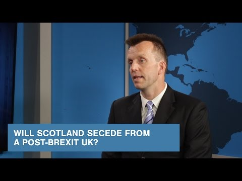 Will Scotland Secede from a Post-Brexit UK?