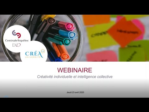 Webinar : de la créativité individuelle à lintelligence collective dans les organisations
