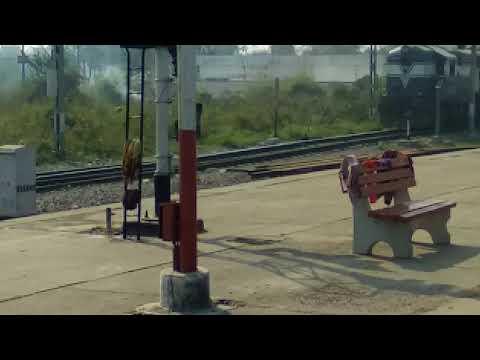 Najibabad railway station just arriving..