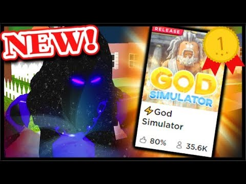 NEW *No1* ROBLOX GOD SIMULATOR & CODE! | Roblox God Simulator