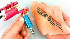 ✔ Watch This Tattoo Machine, Practice Before Tattoo In Human Skin