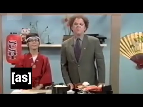 Brule on Sushi | Check It Out! With Dr. Steve Brule | Adult Swim