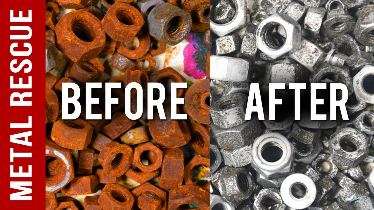 How To Remove Rust From Nuts Bolts And Drill Bits In 3 Easy Steps
