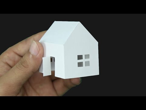 Paper House making- New Idea