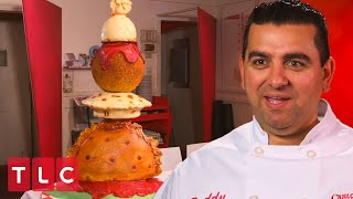 A Five Tier Dumpling Cake! | Cake Boss