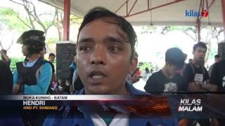 Kilas7 TV Batam - Ribuan Pencari Kerja Padati Kawasan Batamindo