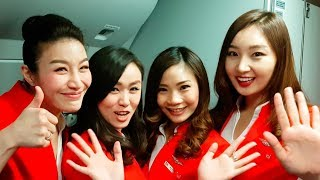 Behind The Scenes Onboard Thai Air Asia X