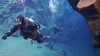 Dive between Continents - Iceland