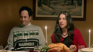 Chiefs-Raiders Christmas commercial