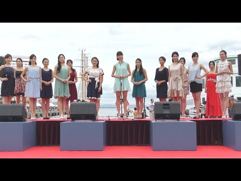 2016.10.23-第14回KOBEみなとマルシェ「MISS UNIVERSE JAPAN HYOGO STAGE」