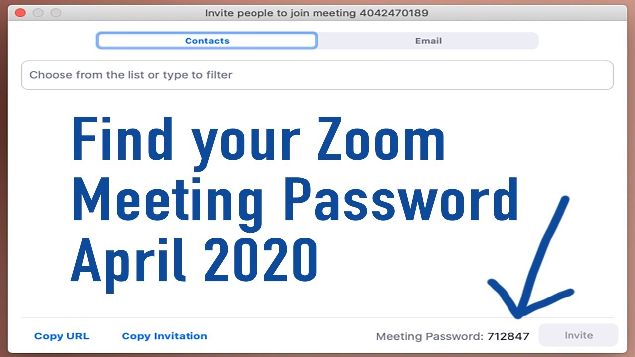 How to find your Zoom meeting password: UPDATED