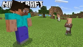 Escape Secret GIANT PLAYERS in Minecraft!