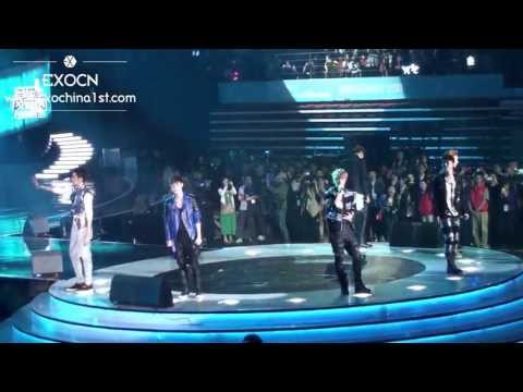 [1080P]-EXOCN-130414 The 13th Music Billboard Awards EXO-M - Angel