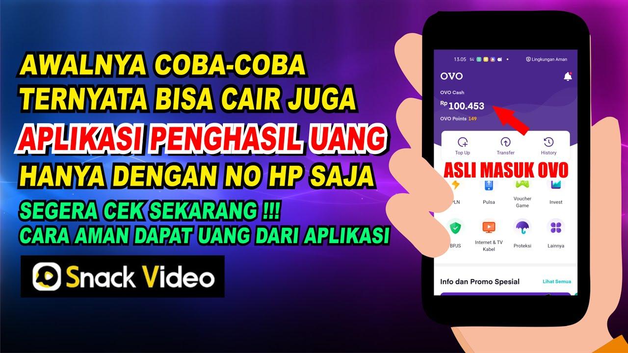 Wajib Coba Aplikasi Penghasil Uang 2021 Yang Aman Dan Terbukti Bisa Cair Youtube
