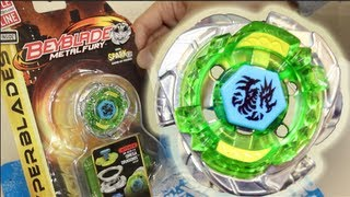Omega Dragonis 85XF HYPER BLADES SPARK FX UNBOXING & REVIEW - (BB-M28-FX) Beyblade Metal Fury Hasbro