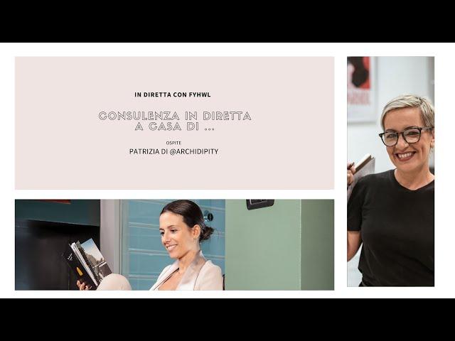 Una consulenza in diretta a casa di Andrea | Design Magazine Fillyourhomewithlove
