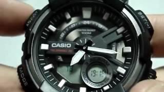 Casio AEQ-110W-1AVEF Налаштування годинника