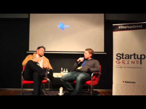 Startup Grind Adelaide hosts Leigh Morgan (Vinomofo / EngineRoom / Mismatch Brewing Company)