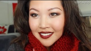 Bold Vampy Lips - Fall Makeup Thumbnail