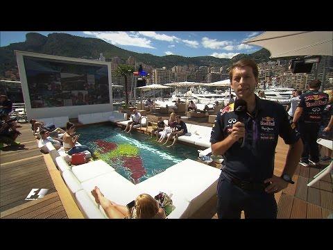 Monaco Grand Prix: Tour of Red Bull's Energy Station