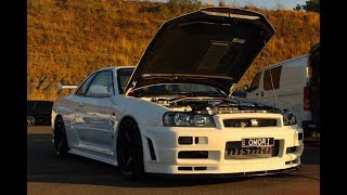GTR Drag racing and fixing the Supra