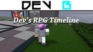 DevB's Roblox RPG Timeline