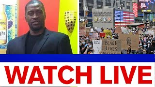 Live video of George Floyd protests in NYC amid curfew