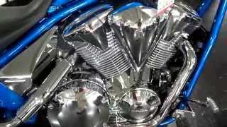 Custom Honda Fury 1300 Chrome Wheels & Engine Accessories - Cruiser / Chopper | VT1300 Motorcycle
