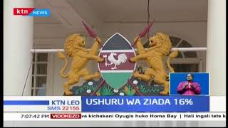Rais Uhuru Kenyatta ameandaa mkutano na Waziri wa Fedha Henry Rotich